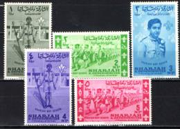 SHARJAH - 1964 - BOY SCOUT - MH - Sharjah