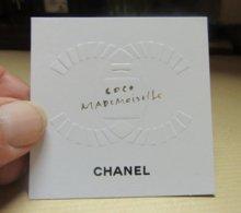Carte Chanel COCO MADEMOISELLE - Cartes Parfumées