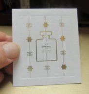 Carte Chanel N°5 - Cartes Parfumées