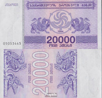 Georgien Pick-Nr: 46b Bankfrisch 1994 20.000 Laris - Géorgie