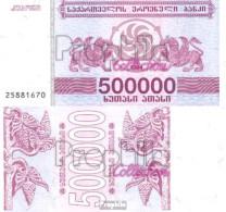 Georgien Pick-Nr: 51 Bankfrisch 1994 500.000 Laris - Géorgie