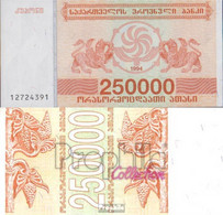 Georgien Pick-Nr: 50 Bankfrisch 1994 250.000 Laris - Géorgie