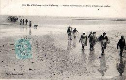 CPA   -   Ile D'Oléron  -  Le Chateau  Le Retour Des Pecheurs  -  écrite   - - Ile D'Oléron