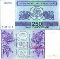 Georgien Pick-Nr: 43a Bankfrisch 1993 250 Laris - Géorgie