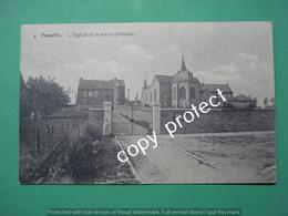 BE636 Haneffe Donceel L'Eglise Et Le Vieux Chateau - Donceel