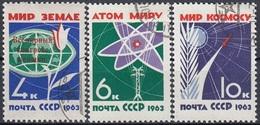 USSR 2735-2737,used,falc Hinged - 1923-1991 URSS