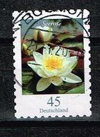 Bund 2018,Michel# 3376 O Blumen: Seerose Selbstklebend - BRD