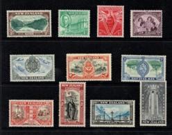 New Zealand 1946 Victory Set Of 11 MNH - 1907-1947 Dominion