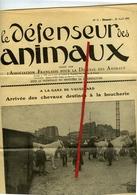 Journal, Le Défenseur Des Animaux No 31 Du 20 Avril 1935 - 8 Pages - France
