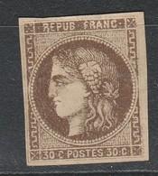 """TRES RARE IMP Très DEF De La Var"""" R Relié Au Cadre"""" N°47e Neuf(*) BE Cote 500€ - 1870 Uitgave Van Bordeaux"""