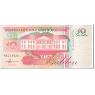 Billet, Surinam, 10 Gulden, 1991, 1991-07-09, KM:137a, TTB - Surinam