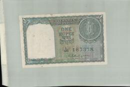BILLET BANQUE INDE -COVERNMENT OF INDIA 1 RUPEE 1951-Janv 2020  Clas Gera - Inde