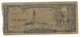 Cuba 1 Peso 1957, G. - Cuba