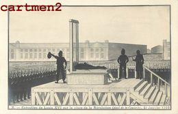 """SERIE COMPLETE 10 CPA : """" LA REVOLUTION """" EXECUTION DU ROI SERMENT JEU DE PAUME BASTILLE FEDERES TUILERIES VALMY COULON - Geschiedenis"""