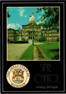 Michigan Lansing State Capitol And State Seal - Lansing