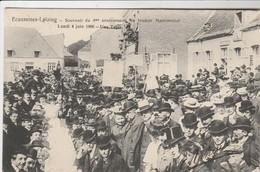 Ecaussines - Lalaing , Souvenir Du 4e Gouter Matrimonial , Lundi 4 Juin 1906 , Une Table - Ecaussinnes