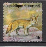 Burundi, Renard, Fox - Stamps