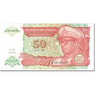 Billet, Zaïre, 50 Nouveaux Zaïres, 1993, 1993-06-24, KM:57, NEUF - Zaïre