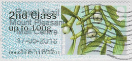 GB 2014 Winter Greenery 2nd Type 2 Code 006099 Used [32/029/ND] - Post & Go Stamps