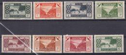 Grand Liban, Great Lebanon 1936 PA Yvert#49-56 Mint Hinged - Neufs