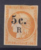 Reunion 1885 Yvert#6 Mint Hinged - Ongebruikt
