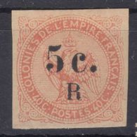 Reunion 1885 Yvert#3 Mint Hinged - Ongebruikt