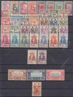 French Somali Coast, Cote Des Somalis 1942 FRANCE LIBRE Complete Yvert#193-203, 204-233 Mint Hinged - Neufs