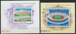Rumänien 1979 - Mi-Nr. Block 161-162 ** - MNH - Olympia Moskau - 1948-.... Republiken