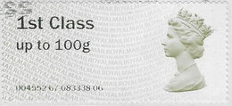 GB SGFS1 2008 Faststamp 1st To 100g Code 004552 Good/fine Used [32/131/ND] - Post & Go Stamps
