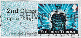 GB 2018 Game Of Thrones Post And Go 2nd Class Issue Code 435555 Used [32/132/ND] - Post & Go Stamps