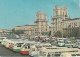 Minsk, Russia  Railway Terminal Square  Place De La Gare  Bahnhofsplatz   Place De La Estacion - Russia