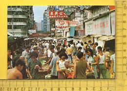 CPM  CHINE, HONG KONG : An Open-air Market - Cina (Hong Kong)