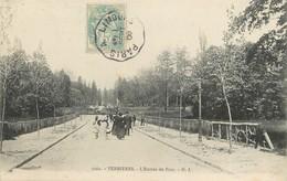 """/ CPA FRANCE 91 """"Verrières, L'entrée Du Parc"""" / CACHET AMBULANT - Verrieres Le Buisson"""