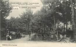 """/ CPA FRANCE 44 """"Saint Brévin L'Océan, Partie Du Jardin Du Pavillon Des Fleurs"""" - Saint-Brevin-l'Océan"""