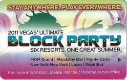 Mandalay Bay Casino - Las Vegas NV- Hotel Room Key Card - Hotel Keycards