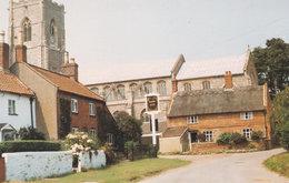 New Inn Worstead Village Pub Norfolk Postcard - Engeland