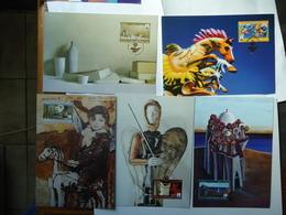 GREECE  MAXIMUM CARDS PATRA EUROPEAN CAPITAL PAINTING ART - Estate 2004: Atene