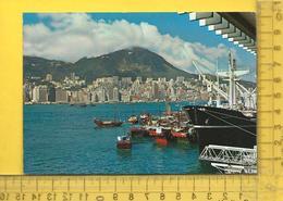 CPM  CHINE, HONG KONG : View From Kowloon - Cina (Hong Kong)