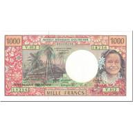 Billet, French Pacific Territories, 1000 Francs, 1996, Undated (1996), KM:2a - Papeete (Polynésie Française 1914-1985)