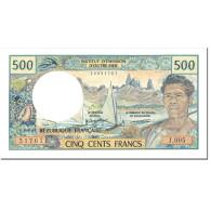 Billet, French Pacific Territories, 500 Francs, 1992, Undated (1992), KM:1a - Papeete (Polynésie Française 1914-1985)