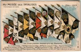 6EA 423 CPA - MUSEE DES INVALIDES - LES ONZE PREMIERS DRAPEAUX PRIS AUX ALLEMAND - France