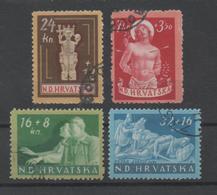 Croatia NDH, Used, 1944, Michel 154_7 - Croatia