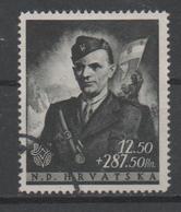 Croatia NDH, Used, 1944, Michel  161 - Croatia