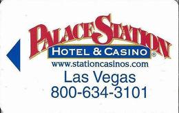Palace Station Casino - Las Vegas NV - Hotel Room Key Card - Hotel Keycards