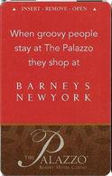The Palazzo Casino - Las Vegas NV - Hotel Room Key Card - Hotel Keycards