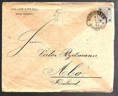 27503 - De BODENBACH Pour La Finlande - 1850-1918 Empire