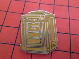 1619 Pin's Pins / Beau Et Rare  / THEME : POSTES /  LA POSTE BOITE AUX LETTRES JAUNE - Poste