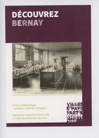 Bernay : Hopital Hospice Salles Chirurgie Hommes - Découvrez Cité Millénaire Art Et Histoire (cp Vierge) - Bernay