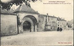 54-LIVERDUN..PORTE DE L'ANCIENNE RESIDENCE DES EVEQUES DE TOUL - Liverdun