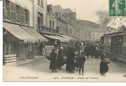 CANCALE. Départ Du Tramway. - Cancale